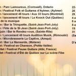 Dates de tournées de raton Lover - été 2016